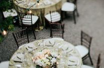 Dining Al Fresco – Intimate Winery Wedding