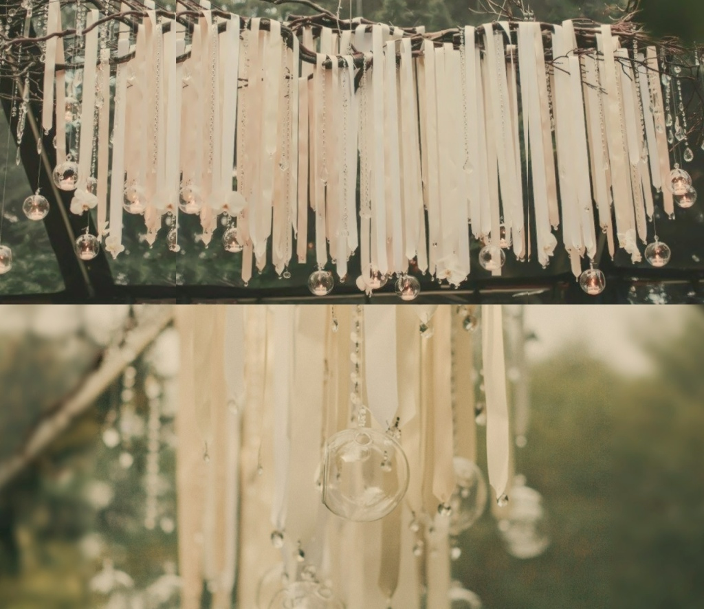 make simple how to ideas chandelier ribbon craft