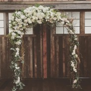 Floral Driftwood Arch
