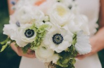 Black Eye Anemone Bouquet