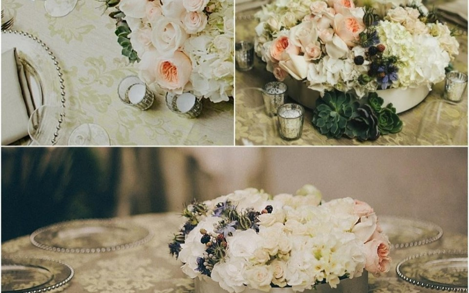 Lush Florals with Hints of Succulents, Thistle and Berries